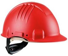 3M G3501 Skyddshjälm Röd