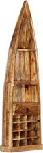 vidaXL Vinställ 50x40x180 cm massivt mangoträ
