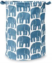 Elefantti kori sininen 42 x 55 cm