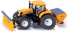 Siku TractorPloughSaltspread 1:50
