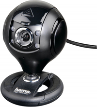 Hama webcam hd spy protect 16:9 svart