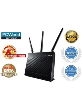 RT-AC68U Dual Band - Trådløs router AC Standard - 802.11ac