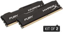 HyperX Fury DDR3-1600 BK C10 DC - 8GB