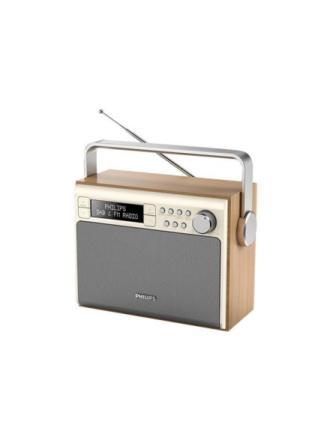 DAB bærbar radio AE5020/12 - DAB/DAB+/FM - Mono - Beige