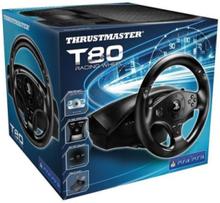 T80 PS4 Wheel - Rat & Pedal sæt - Sony PlayStation 4