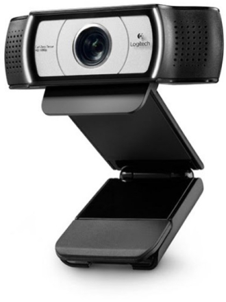 C930e HD Webcam - Silver/Black