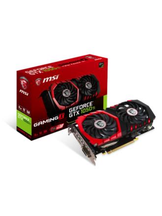 GeForce GTX 1050 Ti GAMING X - 4GB GDDR5 RAM - Grafikkort