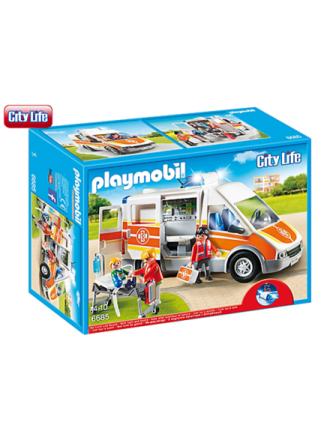 - City Life - Ambulance med lys og sirene - Proshop