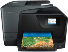 Officejet Pro 8710 All-in-One Blækprinter Multifunktion med Fax - Farve - Blæk