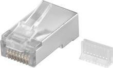 RJ45 plug CAT 5e STP shielded (10 pcs.)