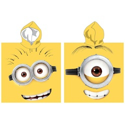 Minions Badeponcho Double Sided Hooded Towel Poncho 110*55 cm - wupti.com