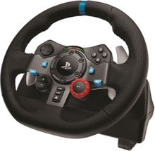 G29 Driving Force (PS4-PS3-PC) - Rat & Pedal sæt - Sony PlayStation 3