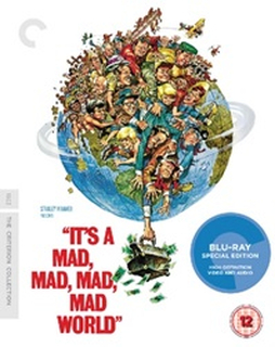 Its a Mad, Mad, Mad, Mad World - The Criterion Collection (Blu-ray / Restored) [UK IMPORT]