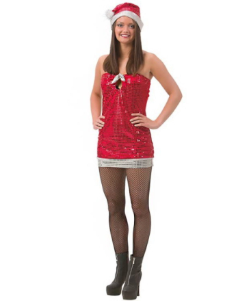 Glittrande Julklänning - Kostym