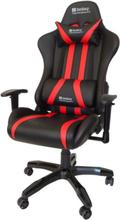Commander Krzes?o gamingowe - Czarno-czerwony - Skóra PU - 150 kg