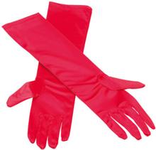 Elegante Røde Lange Hansker - 38 cm