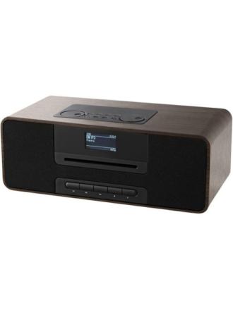 DAB bærbar radio KR136ODABBT - Brown Wood - DAB/DAB+/FM - Stereo - Brun