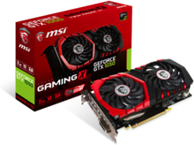 GeForce GTX 1050 GAMING X - 2GB GDDR5 RAM - Grafikkort