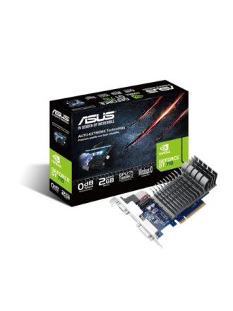 GeForce GT 710 Silent - 2GB GDDR3 RAM - Grafikkort