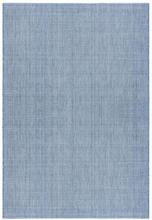 Flatvävd / slätvävd matta Belfort - Blå - 133x190 cm