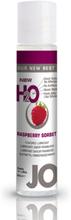 System Jo H2O Lubricant Raspberry - 30 ml Vattenbaserat Glidmedel