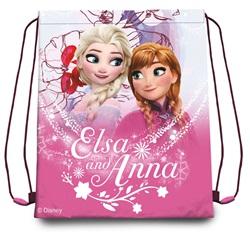 Disney Frozen Anna Elsa Gymnastiktaske Sportstaske 41x32cm - wupti.com