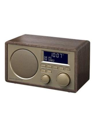 DAB bærbar radio IKR1440DAB - DAB/DAB+/FM - Mono - Brun