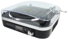 Pladespiller SD / LP / Radio 1.6 W Sort Skivspelare -