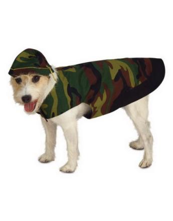 Camo Dog Hundkostym