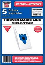 Tecnhogar Hoover/Magic Line/Miele Stofzuigerzakken - 5 STUKS