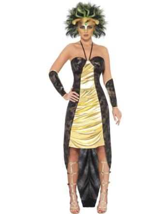 Medusa - Komplett Kostyme med Parykk