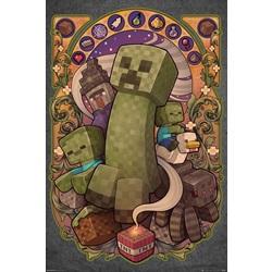 Minecraft Creeper Nouveau Maxi Poster 61x91.5cm - wupti.com