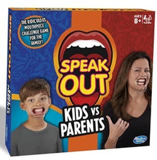 Hasbro C31451020 Speak Out Kids vs Forældre spil