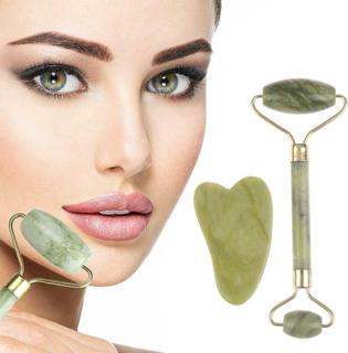 Roller And Gua Sha Tools Av Natural Jade Scraper Massager Med