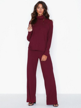 NLY Trend Ribbed Polo Set Jumpsuits