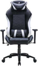 Zone Balance Gaming Chair White Gaming Stol - Svart / Vit - PU-skin - Upp till 120 kg