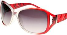Splitted Color - Röda Solglasögon Jämförbara med Prada