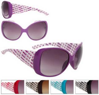 12 stk Assorterte Solbriller - Clear Square - Sammenlign med Louis Vuitton