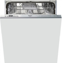 Hotpoint HIC 3C41 CW - Opvaskemaskine - Sølv