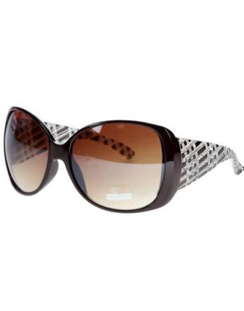 Clear Square - bruna solglasögon som liknar Louis Vuitton
