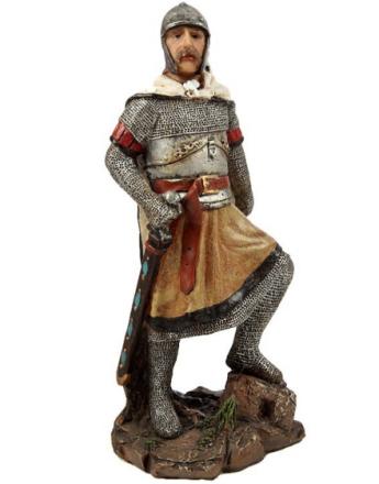 Ridder med Kappe & Sverd - 20 cm Figur