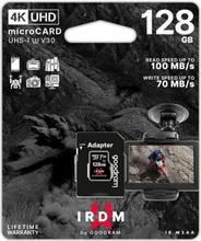 Mikro-SD-hukommelseskort med adapter GoodRam M3AA 128 GB