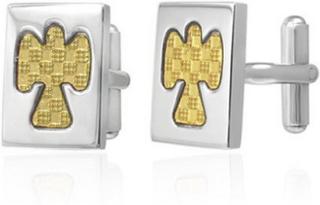Golden Angel - Gull/Sølvfarget Mansjettknapper