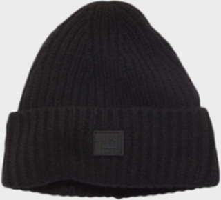 Mini Pansy N Face Beanie Black
