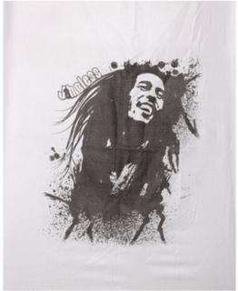 JaH Bless Bob Marley - Hvitt Skjerf