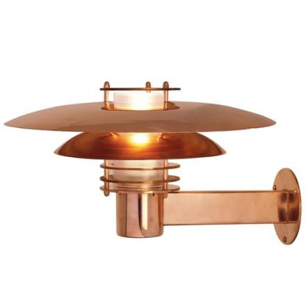 Nordlux Phoenix udendørs væglampe i kobber