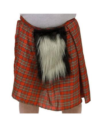 Skotsk Kilt med Pelslomme