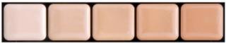 HD Glamour Creme Palette Cool #1 - Graftobian Sminkepalett 5 Farger