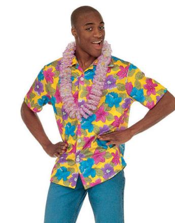 Hawaii Skjorte - Gul