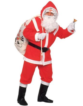 Kris Kringle - Komplett Julenisse Kostyme